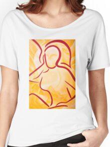 Rest, Now. (A Portrait) Women's Relaxed Fit T-Shirt