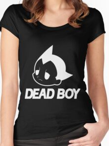 DEAD BOY BLACK Women's Fitted Scoop T-Shirt