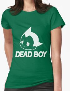 DEAD BOY BLACK Womens Fitted T-Shirt