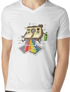 Vomit Camera Mens V-Neck T-Shirt