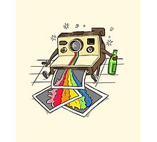 Vomit Camera Photographic Print