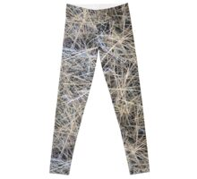 Pine Needle Camo Design Leggings
