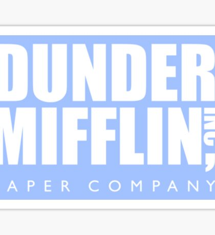 The Office Dunder Mifflin Paper Company Sticker
