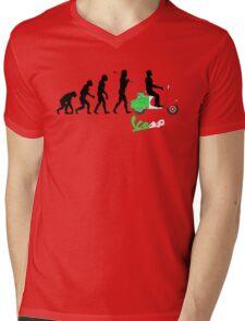 VESPA ITALIAN VINTAGE RETRO SCOOTER REVOLUSI Mens V-Neck T-Shirt