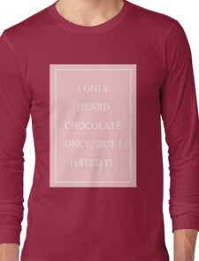 Pink The 1975 Long Sleeve T-Shirt