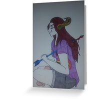 Arrows of sorrow Greeting Card