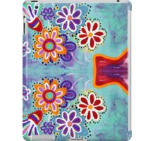 Happy Flowers - Art by Valentina Miletic iPad Case/Skin
