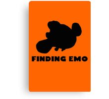 Finding Emo Canvas Print