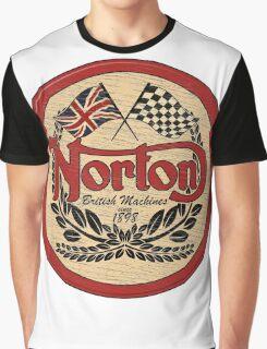 Norton - distressed sign Graphic T-Shirt