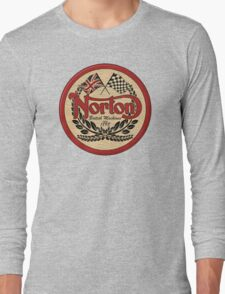 Norton - distressed sign Long Sleeve T-Shirt