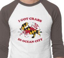 Ocean City Crabs Men's Baseball ¾ T-Shirt