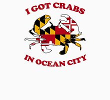 Ocean City Crabs Men's Baseball ¾ T-Shirt