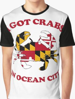 Ocean City Crabs Graphic T-Shirt
