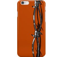 BARBWIRE iPhone Case/Skin
