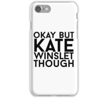 Kate Winslet iPhone Case/Skin