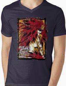 QOTSA Mens V-Neck T-Shirt