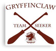 Gryffinclaw Team Seeker in Red Canvas Print