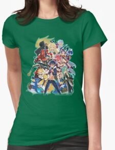 ALL Disgaea!! Womens Fitted T-Shirt
