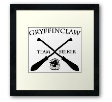 Gryffinclaw Team Seeker Framed Print