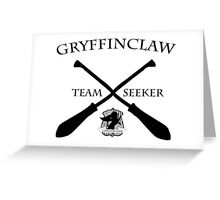 Gryffinclaw Team Seeker Greeting Card