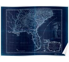 American Revolutionary War Era Maps 1750-1786 051 A general map of the middle British colonies in America 16 Inverted Poster