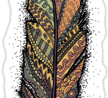 Autumn Feather  Sticker