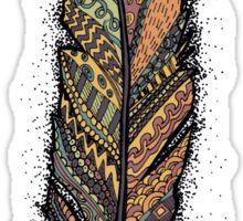 Autumn Feather  Sticker