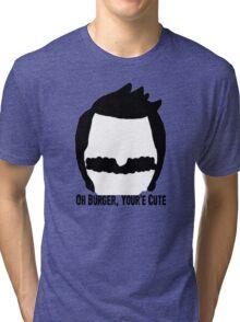 Bob Belcher- Bobs Burgers Tri-blend T-Shirt