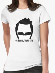 Bob Belcher- Bobs Burgers Womens Fitted T-Shirt