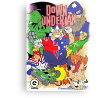 Down-Underian issue 1 comic cover. Metal Print