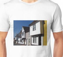 Tudor Houses, George Street, Hadleigh Unisex T-Shirt