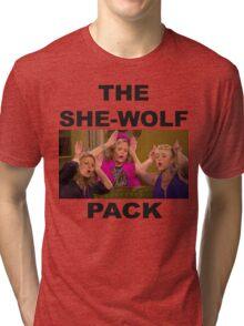 Fuller House  She-wolf Pack Tri-blend T-Shirt