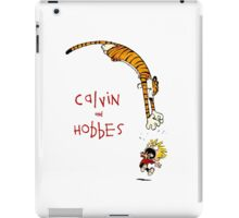 calvin and hobbes funny iPad Case/Skin
