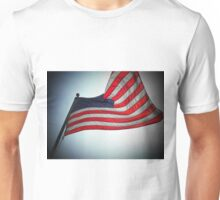 The flaws in your design..lies lead to disgrace..a failure to reform..I used to know what this flag stood for..now I don't know anymore Unisex T-Shirt