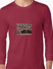 Packhorse Bridge at Allerford, Somerset Long Sleeve T-Shirt