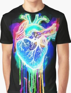 Bleeding Heart- Ghosted Graphic T-Shirt