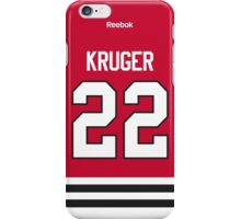 Chicago Blackhawks Marcus Kruger Jersey Back Phone Case iPhone Case/Skin