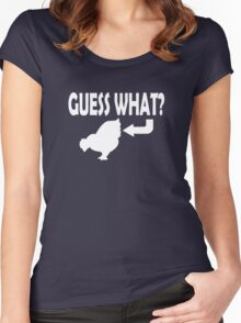 Guess What Women's Fitted Scoop T-Shirt