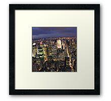 NEW YORK 1 Framed Print