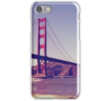 San Francisco, Golden Gate Bridge iPhone Case/Skin