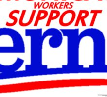 Communications Workers Support Bernie for President Sticker