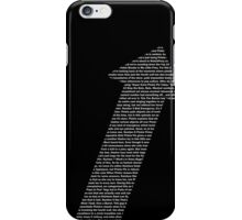 The Written Direction iPhone Case/Skin