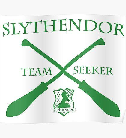 Slythendor Team Seeker in Green Poster