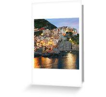 MANAROLA ITALY Greeting Card