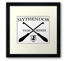 Slythendor Team Seeker Framed Print