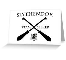 Slythendor Team Seeker Greeting Card