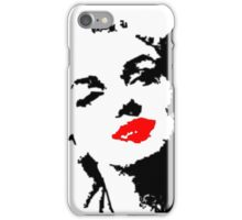 Miss Marilyn iPhone Case/Skin