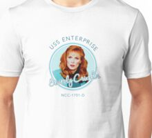 USS Enterprise: Beverly Crusher Unisex T-Shirt
