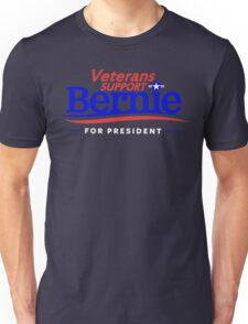 Veterans Support Bernie For President T-Shirt