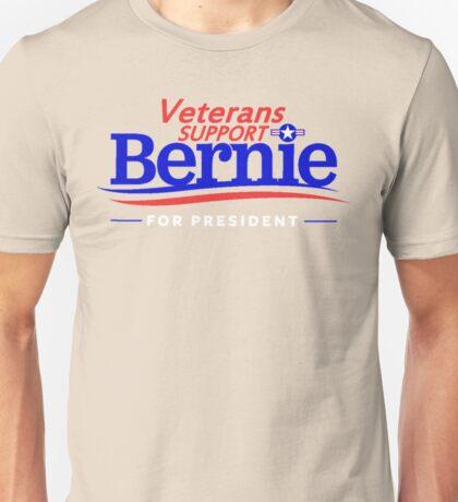 Veterans Support Bernie For President Unisex T-Shirt